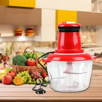 Kitchen Electric Meat Grinder Chopper Cocina Shredder Food Chopper Stainless Steel Electric Household Processor Kitchen Tool