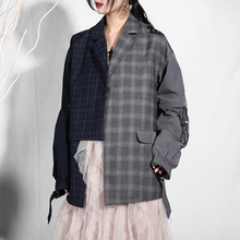 Lapel Women Loose Jacket