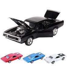 1:32 зарядное устройство литой металл модель автомобиля звук и светильник выдвижной автомобиль игрушка для мальчика Детский Рождественский подарок