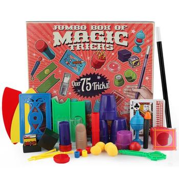 Chidlren Magic Tricks Toys Hanky Panky's Junior Magic Set Simple Magic Props For Magic Beginner Children With DVD Teaching Kit