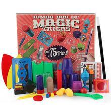 Chidlren 매직 트릭 완구 Hanky Pankys Junior Magic Set 매직 초보자를위한 간단한 매직 소품 DVD 교육 키트가있는 어린이