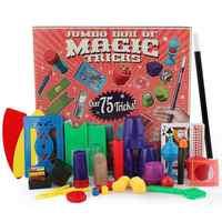 Chidlren magiczne sztuczki zabawki Hanky Panky's Junior Magic Set proste magiczne rekwizyty dla magicznych początkujących dzieci z zestawem do nauczania DVD