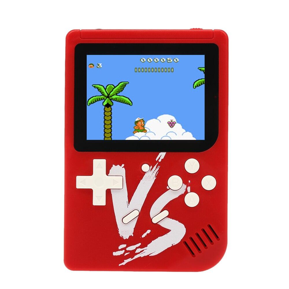 Videospielkonsolen Tragbare Spiel Maschine Handheld Spielkonsole 500 In 1 Klassische Spiele W/wired Gamepad Kind Geschenk Unterstützung Av Ausgang 2 Spieler Modus Produkte Werden Ohne EinschräNkungen Verkauft