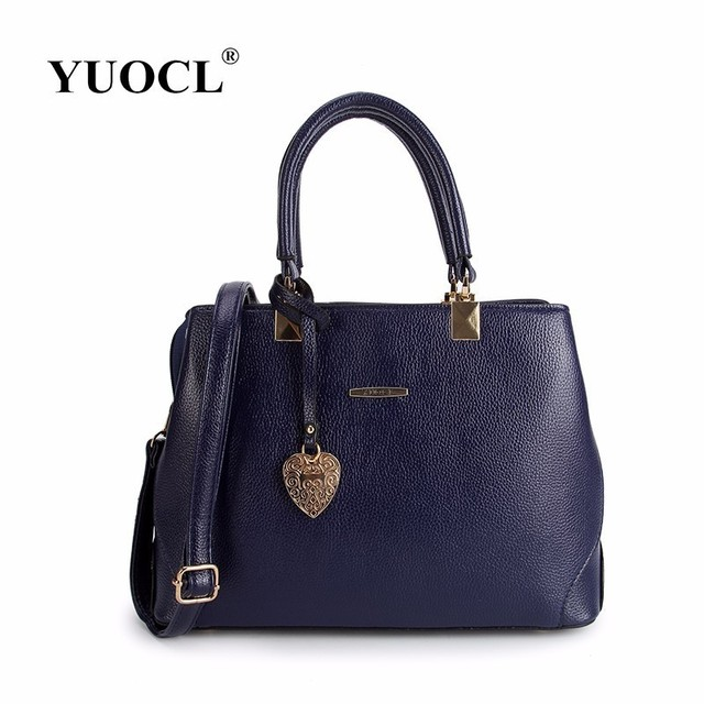 YUOCL 2018 New Women Bag Luxury Leather Handbags Fashion Women Famous  Brands Designer Handbag High Quality Female Shoulder Bags a9b8f0e8c6e98
