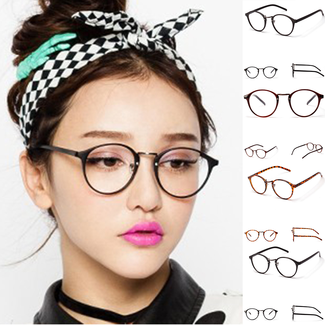 93c3da516e Vintage Fake Eye Glasses Frame Women Men 2018 Clear Lens Myopia Read Glass  Transparent Eyeglasses Optical