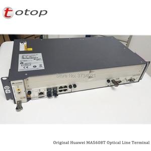 Image 5 - Expédition par DHL Huawei MA5608T GPON OLT avec 1 * MCUD 1G + 1 * carte dalimentation cc MPWC, Terminal de ligne optique MA5608T