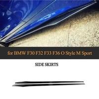 Universal Car Bumper Lip For Subaru impreza mercedes W204 BMW F30 F22 F32 Toyota chr Honda civic 2017 Carbon Fiber Side Skirts