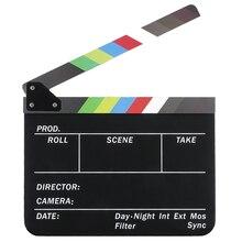 Action Scene Clapper Board Slate