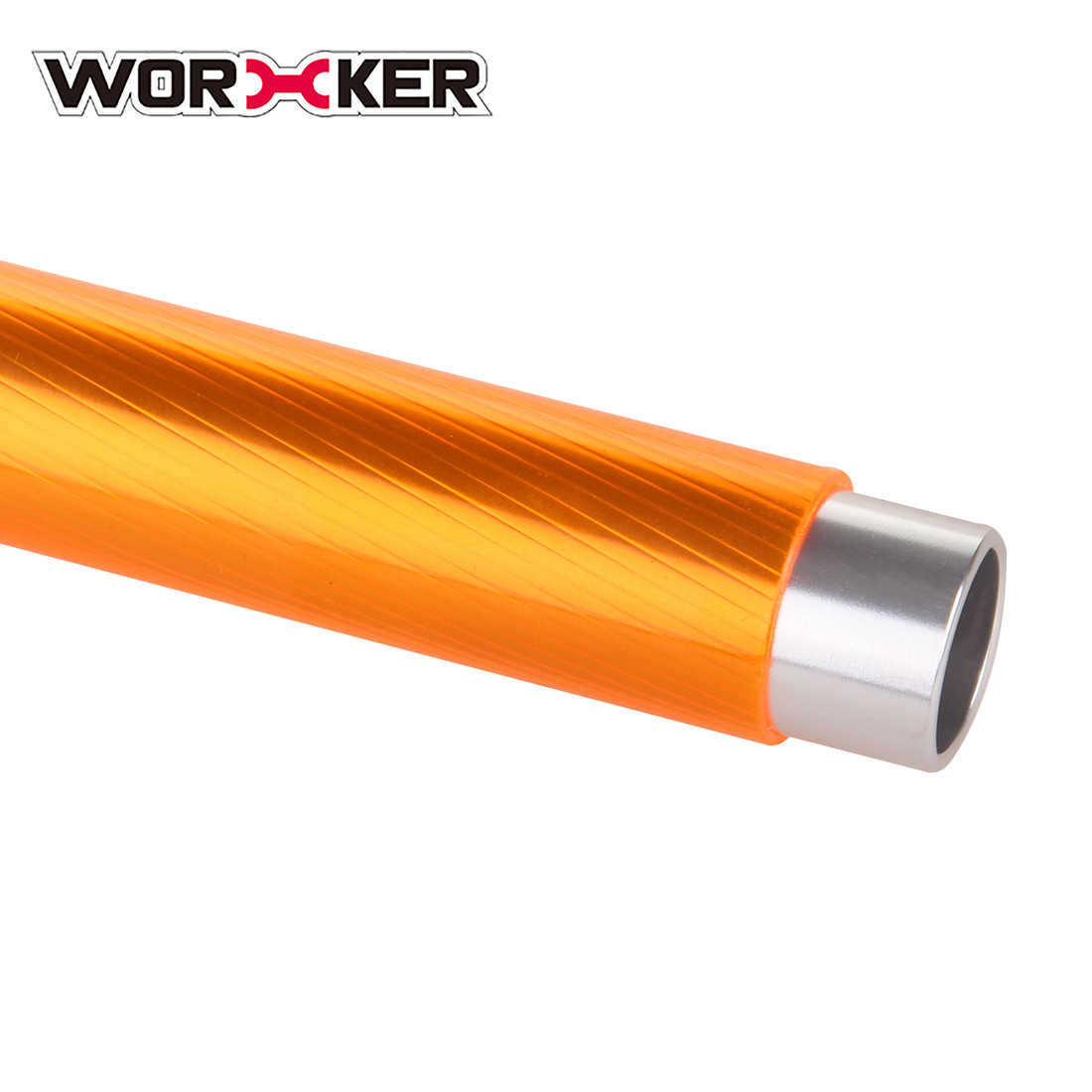 Рабочий алюминиевый сплав Модифицированная алюминиевая трубка для Nerf Elite Stryfe Blaster CS-18 Elite Rapidstrike