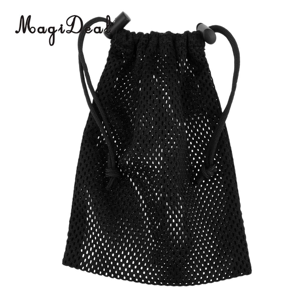 Adjustable Drawstring Mesh Gear Carry Bag For Scuba Diving Snorkeling Spearfishing SMB Surface Marker Buoy
