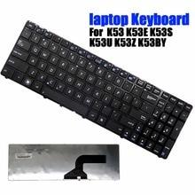 New Black Keyboards US Laptop Keyboard Suitable For ASUS K53 K53E K53S K53U K53Z K53BY Series for asus k53u laptop motherboard e450 pbl60 la 7322p 60 n58mb2100 100