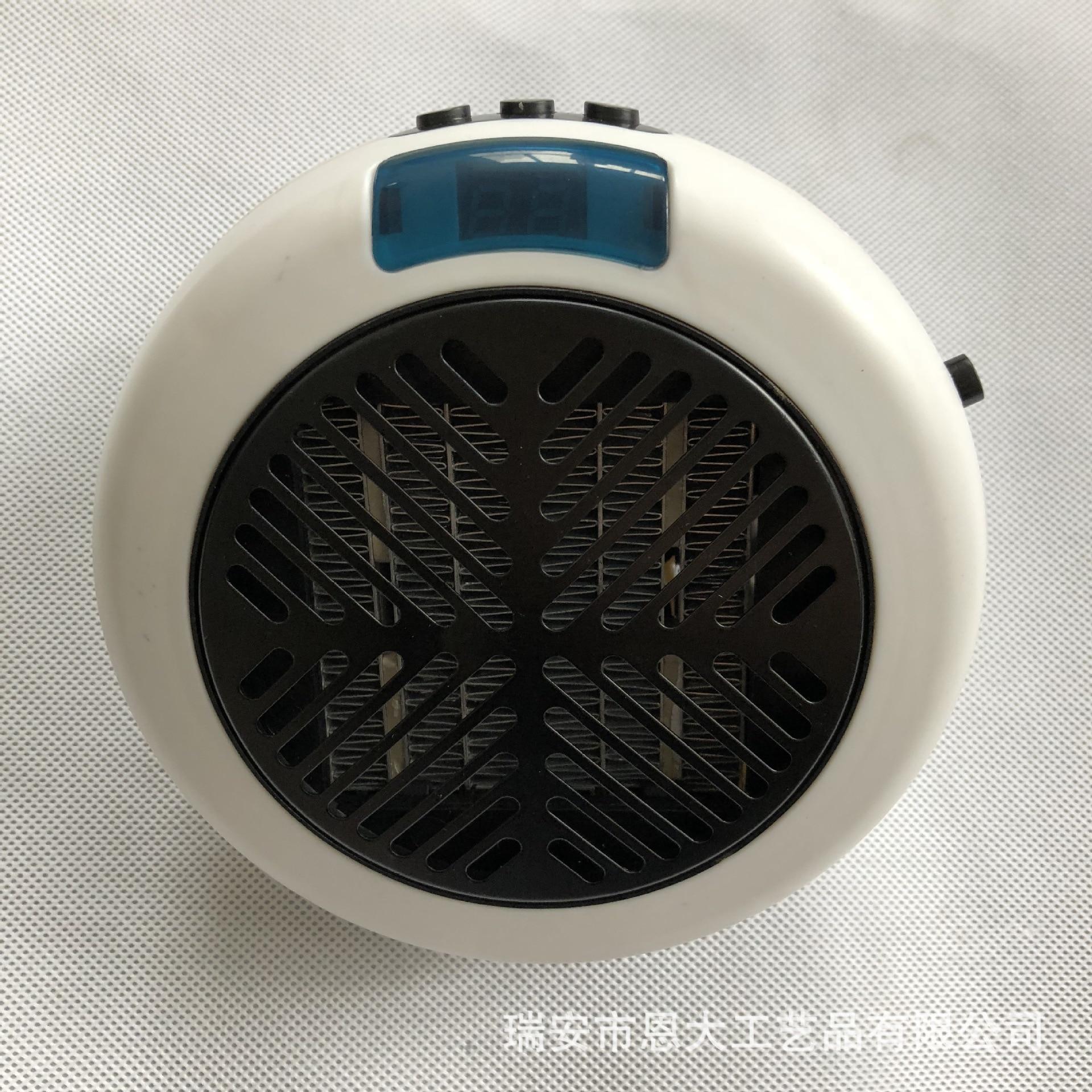 Radiateur transfrontalier rond 900 W nouveau Style Mini bureau de chauffage
