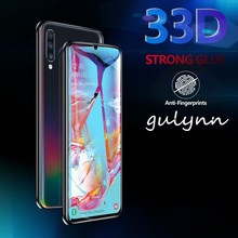 33D Tempered Glass on the For Samsung Galaxy A10 A50 A 20 30 40 60 70 80 90 M 10 2019 Screen Protector Protective Film HD