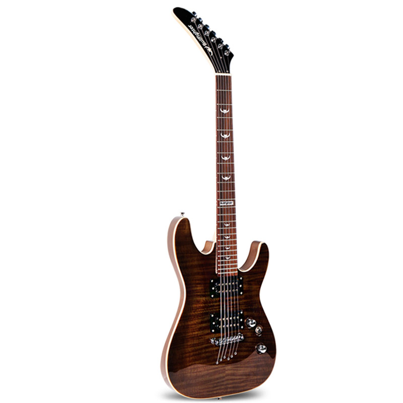 bullfighter introduction to electric guitar beginner rock professional electric guitar with. Black Bedroom Furniture Sets. Home Design Ideas
