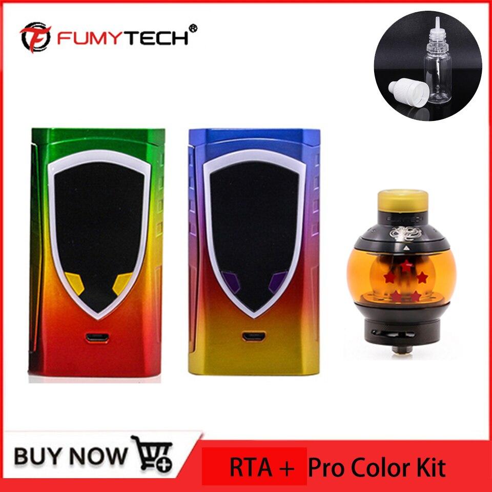 E Cigarette Vape Kit 225W Pro Color Mod vs fumytech Dragon Ball V2 RTA RDTA 5