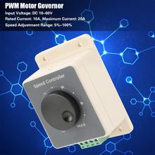 цена на PWM DC Motor Governor 12V/24V/36V/48V 20A High Power Motor Speed Control Regulator Switch DC Motor Speed Controller