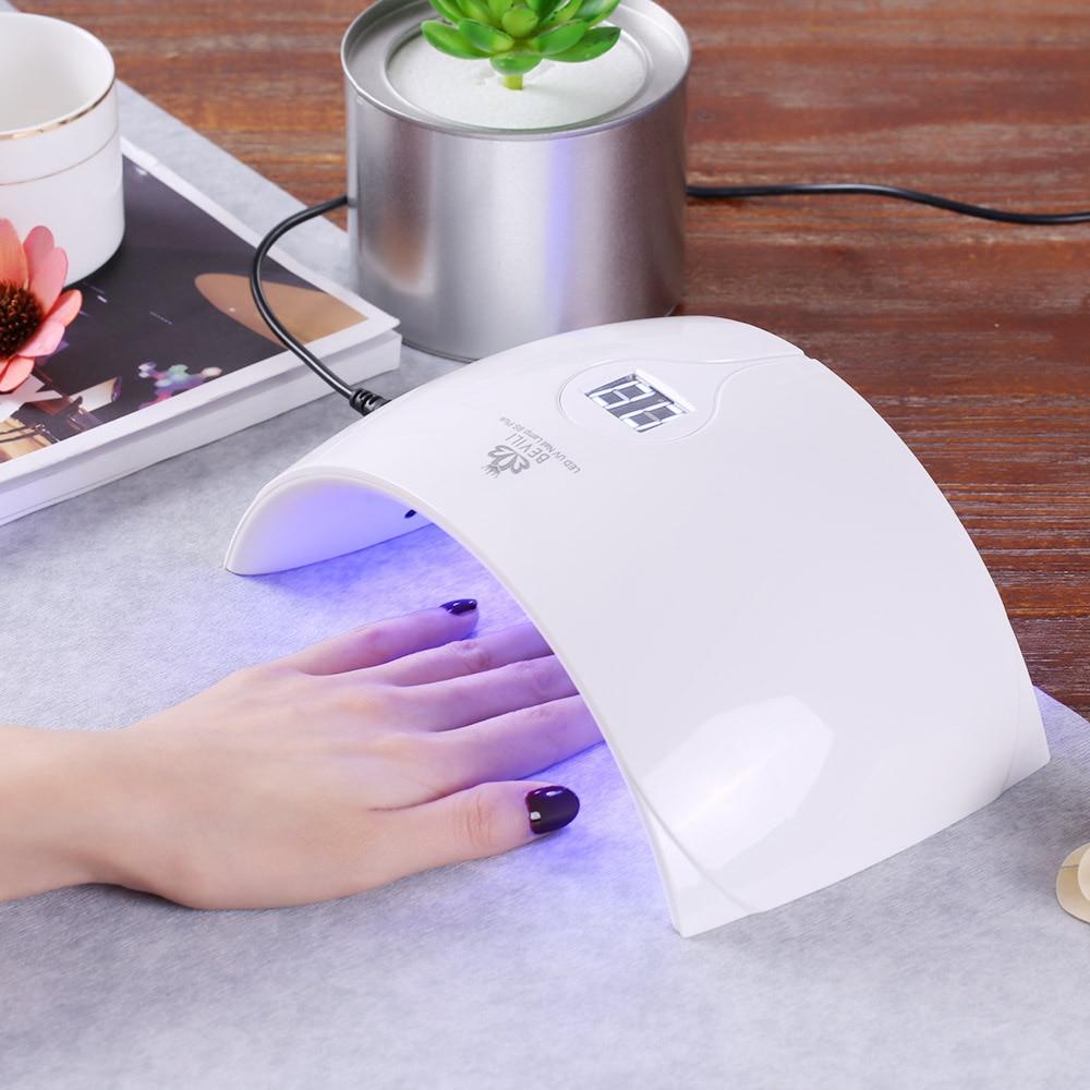 36 Watt Smart Uv Led Nagel Lampe Automatische Nagel Trockner Für Alle Gele Nagel Aushärtung Maschine Eu/us-stecker Optional Schönheit & Gesundheit
