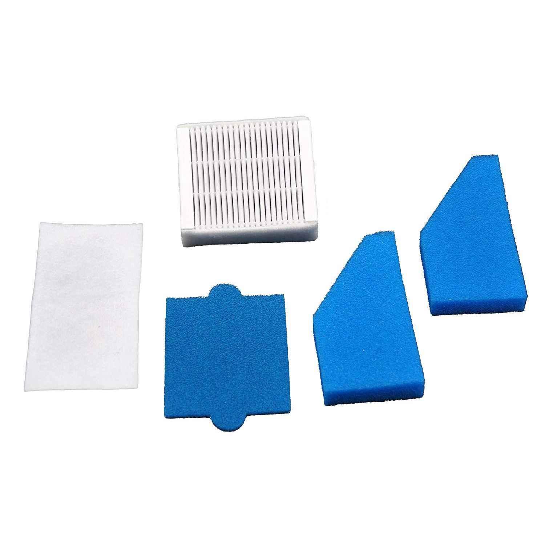 Filter Set Cocok untuk Pembersih Vakum Thomas Aqua + Bersih X8 Parket Aqua + Hewan Peliharaan dan Keluarga sempurna Air Hewan Murni Seperti