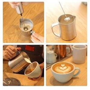 Image 2 - REELANX elektrikli süt köpürtücü şarj edilebilir süt köpürtücü Cappuccino kahve köpük yumurta çırpıcı