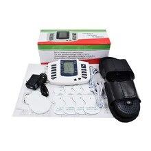 Gezondheid Elektronische body massager tens stimulators myostimulator acupunctuur stimulators voor lichaam met slippers