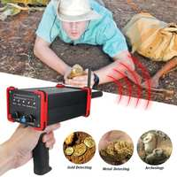 30M Deepth Metal Detector Outdoor GR100 Upgrade Rechargeable Pointing Techlogy Long Range for Mineral Gold Diamond Detectors