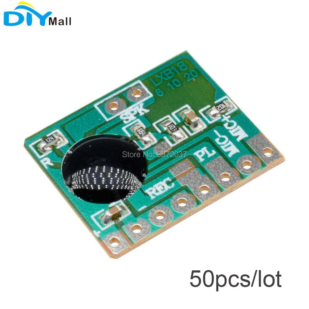 50pcs/lot ISD1806 6S Sound Record IC Chip Voice Module 8ohm Speaker Recording Board 3 4.5V-in Home Automation Modules from Consumer Electronics    1