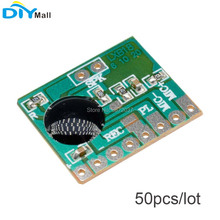 цены 50pcs/lot ISD1806 6S Sound Record IC Chip Voice Module 8ohm Speaker Recording Board 3-4.5V