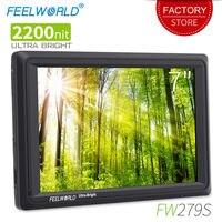 Feelworld FW279S 7 inch 3G SDI 4K HDMI 2200nit Ultra Bright On Camera Field Monitor DSLR Full HD 1920x1200 LCD IPS for Outdoors