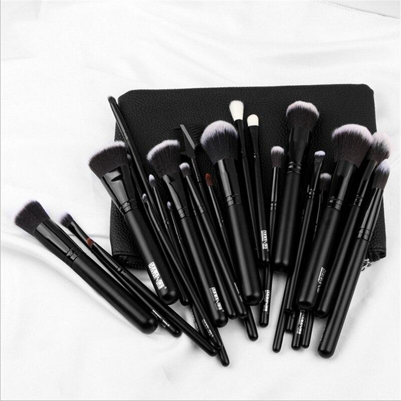 27Pcs Profession Makeup Brushes Set For Foundation Powder Blush Eyeshadow Concealer Lip Eye Make Up Brush Cosmetics Beauty Tools