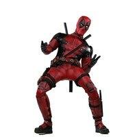 HOTTOYS MMS490 31 см супер герой X men Дэдпул подвижная фигурка Marvel игрушки коллекция Рождественский подарок кукла