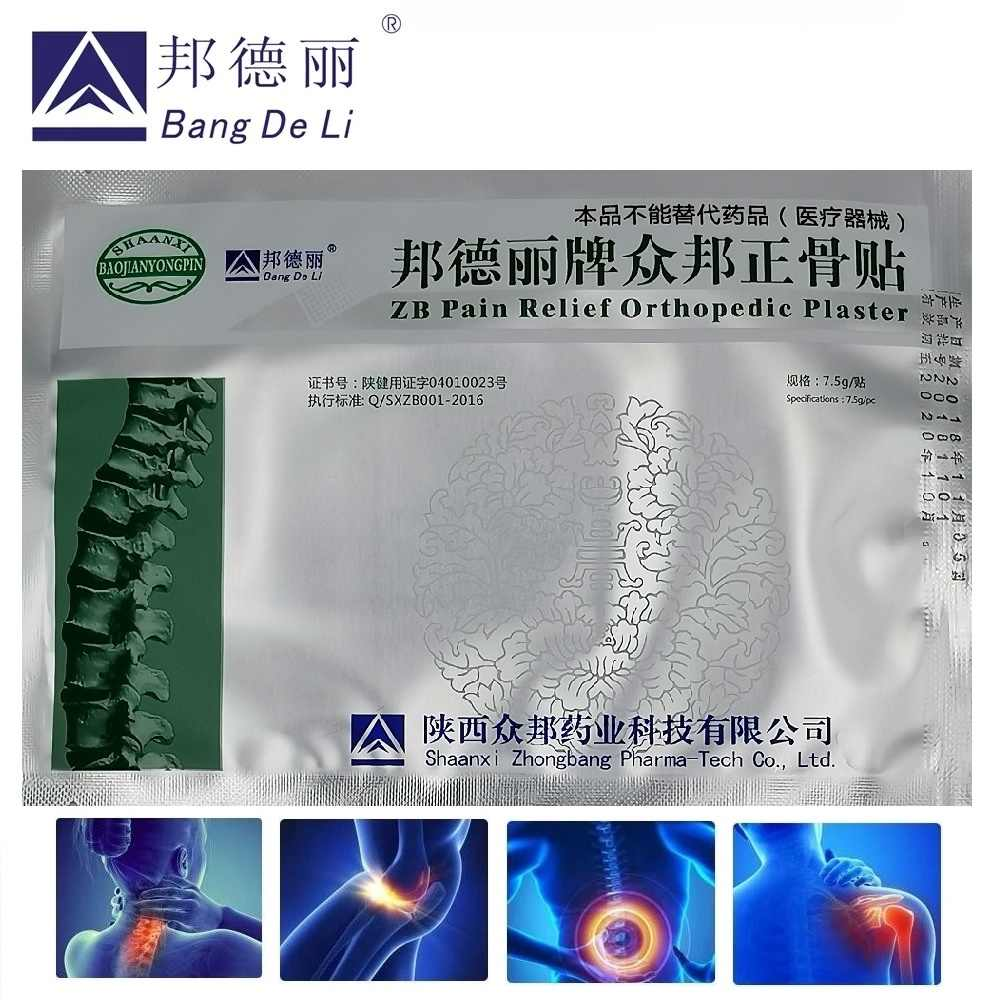 20pcs/Lot zb pain relief orthopedic plaster pain relief patch medicine medicated plaster back pain muscle rheumatic arthritis