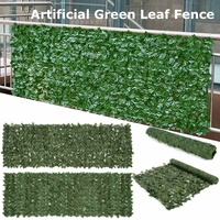 Artificial Plants Fence Decoration Garden Yard for Home Wall Landscaping Green Background Decor Artificial Leaf Branch Net
