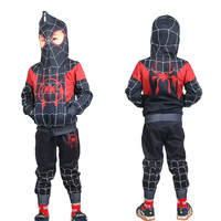 Red Black New 2019 Kids Spider Cosplay Costume for Children Clothing Sets Man Halloween Party for Kids Long Sleeve Suit 39021
