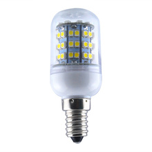 LICG-Energy Saving E14 60 SMD 3528 LED 450LM Corn Light Lamp Bulb 3000-3500K Equivalent Halogen 50W Warm White gu4 0 1 8w 150 180lm 3000 3500k 30x3528smd led warm white light bulb