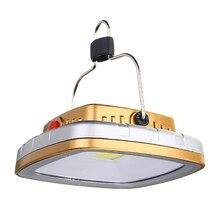 Открытый Портативный COB солнечные фонари Led палатка Кемпинг лампы Usb флэш-память светильник Перезаряжаемые Батарея палатка светильник подвесной фонарь с крюком