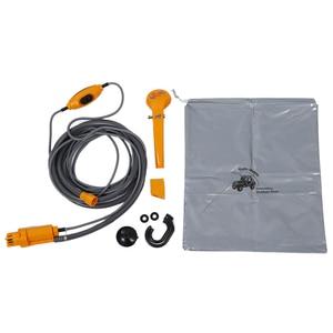 Image 1 - 12V Portable Outdoor Camping Travel Car Pet Dog Shower