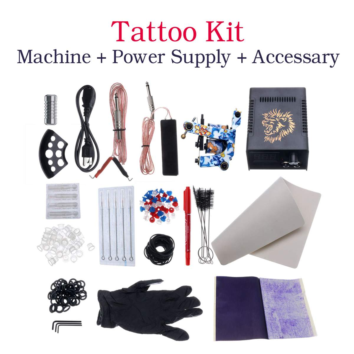Professional Tattoo Rotary Guns Kit Liner And Complete Tattoo Machine Ink Sets Starter SupplyProfessional Tattoo Rotary Guns Kit Liner And Complete Tattoo Machine Ink Sets Starter Supply