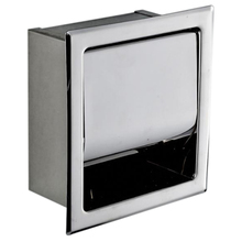 Нержавеющая сталь держатель для туалетной бумаги полированный хром Настенный скрытый для ванны рулон бумаги коробка водостойкая
