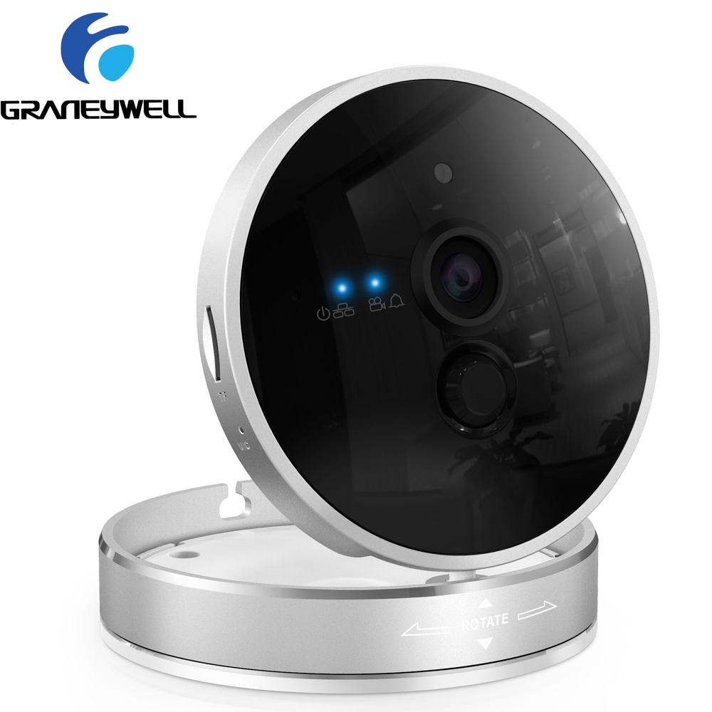 Graneywell WiFi Camera 1080P HD CCTV Security Camera Home Security Wireless Camera Baby Monitor IR Night surveillance Camera