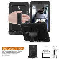 Tablet Case For Samsung Galaxy Tab A A2 10.5'' 2018 SM T590 T595 T597 Cover Kids Safe Shockproof Stand With Wrist Strap+Film+Pen