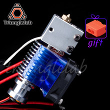 Trianglelab v6 Volcano hotend 12V/24V remote Bowen print J-head Hotend and cooling fan bracket for E3D HOTEND for PT100(China)