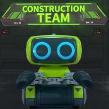 MODIKER высокотехнологичный умный программирования RC конструирования роботов для вилочных погрузчиков RC домашние игрушечные светильник и музыки для детей программируемый игрушка