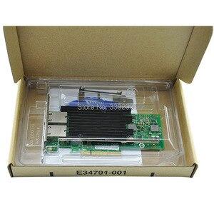 Image 4 - FANMI double port RJ45 PCI E X8 10 go Ethernet adaptateur réseau convergé X540 T2