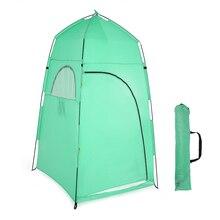 TOMSHOO Outdoor prysznic namiot kąpielowy przenośny namiot plażowy zmiana przymierzalnia namiot Camping prywatność toaleta schronisko namiot plażowy