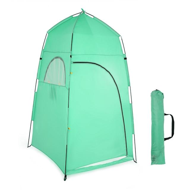 TOMSHOO 야외 샤워 목욕 텐트 휴대용 비치 텐트 변경 피팅 룸 텐트 캠핑 개인 정보 보호 화장실 쉼터 비치 텐트