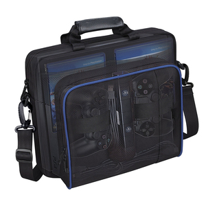 Image 2 - PS4 Accessories Play Station 4 Joystick Console Bag Carry Pouch Normal PS4 Game Console Storage Bag for PlayStation 4 Video Game