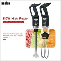 XEOLEO Commercial immersion Blender Portable 400mm Handheld blender with Whisk 350W 110V/220V Hand Food blender Electric Juicer