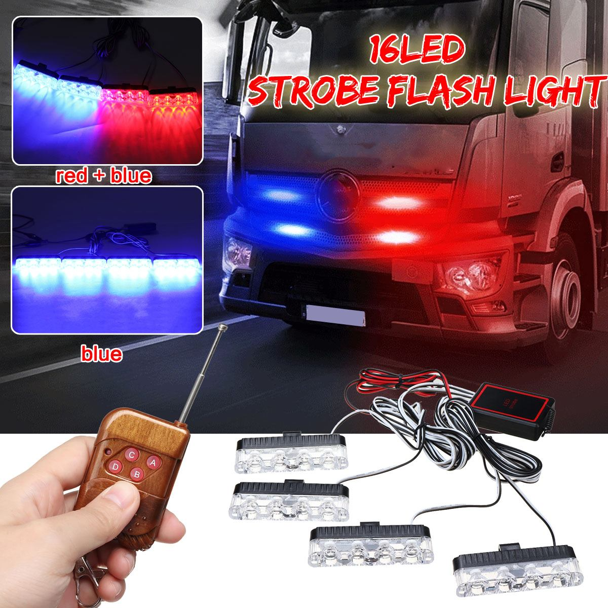 Cheap and beautiful light led car 16 leds in Light and Led