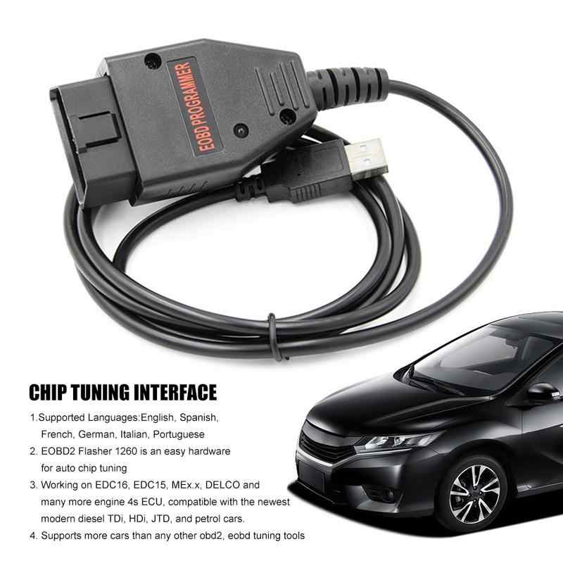 Multi-language SMPS MPPS V13 02 MPPS V16 OBD CAN Flasher Chip Tuning ECU  Remap OBD2 Professional Cable With Fast Shipping