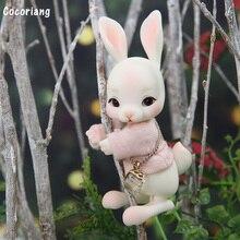 Cocoriang tobi bjd sd bonecas 1/12 coelho modelo de resina do corpo do bebê meninas meninos olhos alta qualidade brinquedos fananty anjo luodoll
